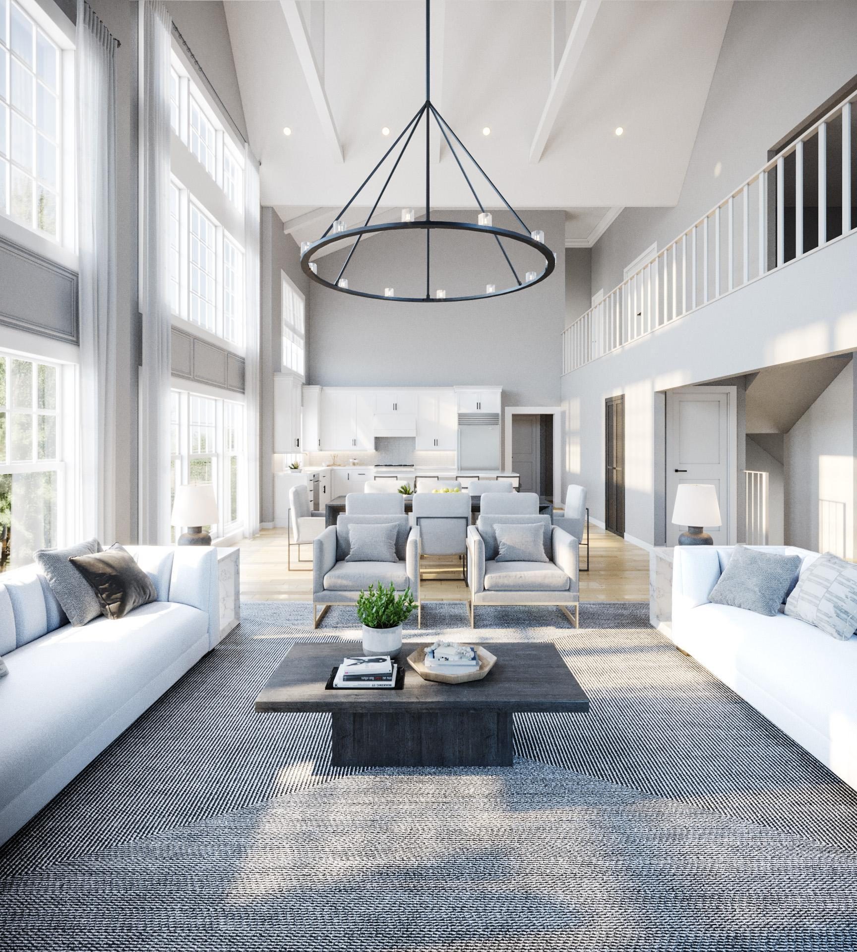Living Area featured in the Townhome A By Beechwood Homes in Nassau-Suffolk, NY