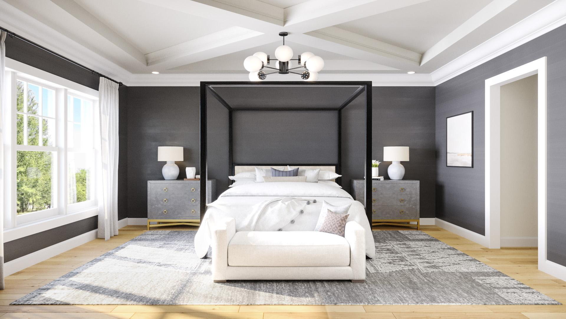 Bedroom featured in the Townhome A By Beechwood Homes in Nassau-Suffolk, NY