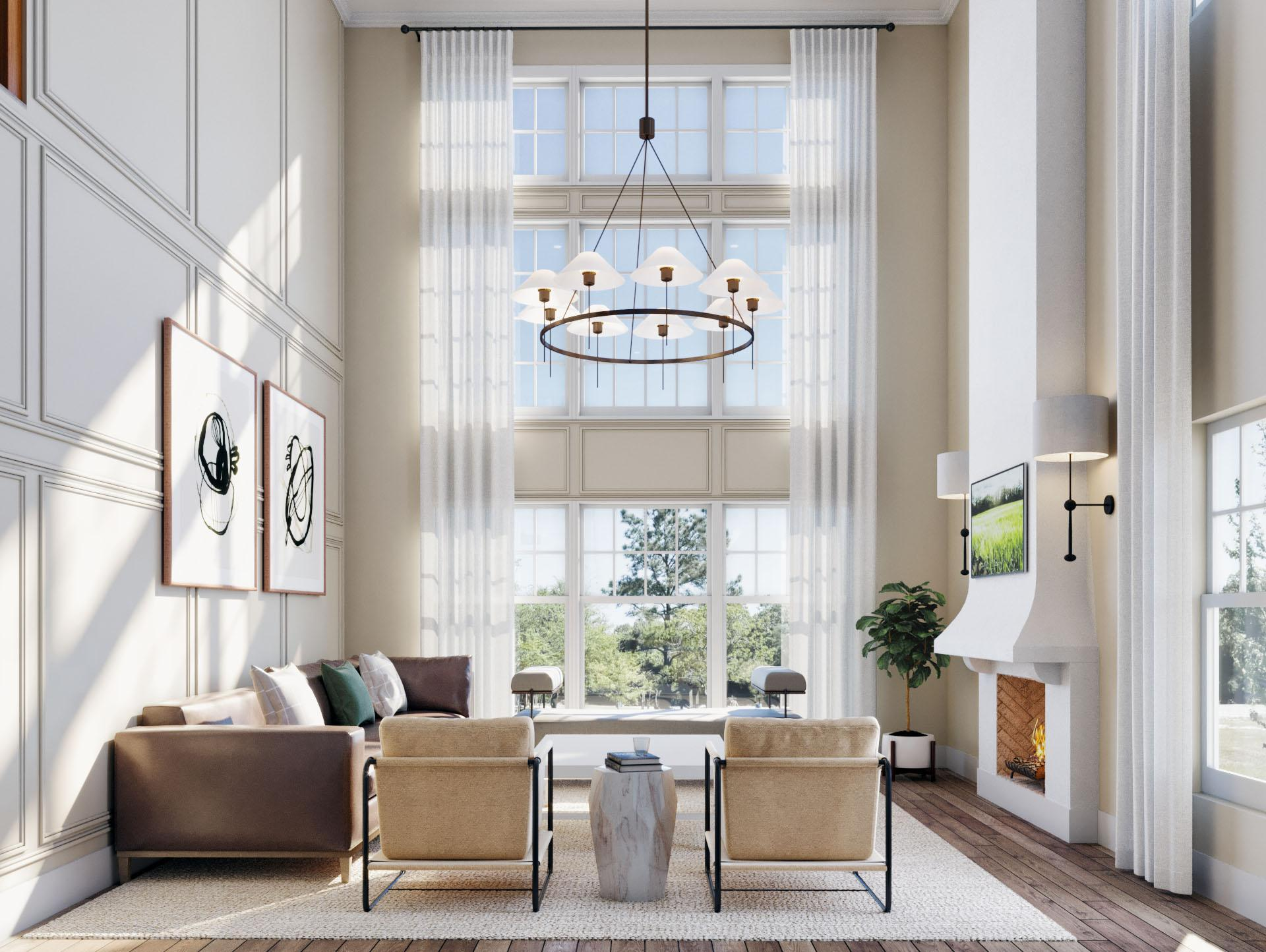 Living Area featured in the Townhome E1 By Beechwood Homes in Nassau-Suffolk, NY
