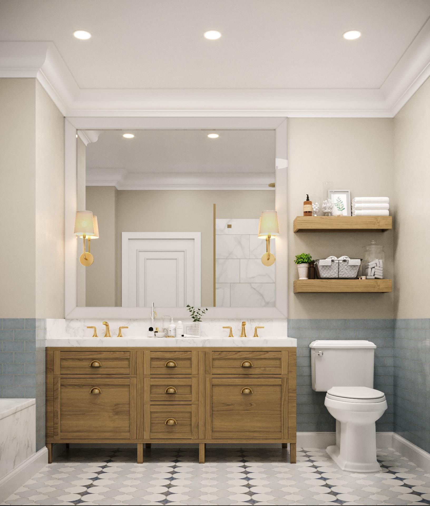 Bathroom featured in the Townhome E1 By Beechwood Homes in Nassau-Suffolk, NY