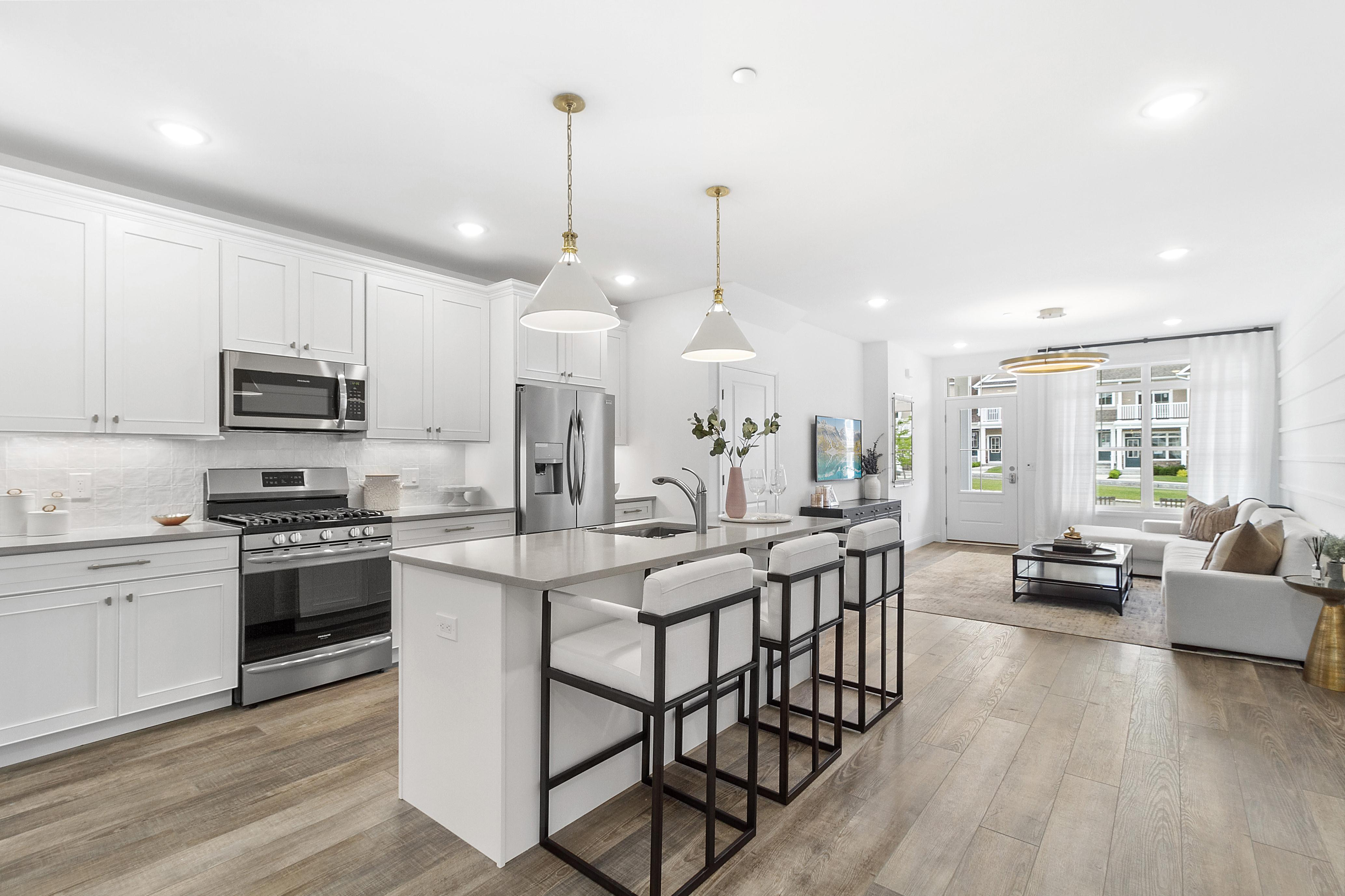 Kitchen featured in The Ashford By Beechwood Homes in Nassau-Suffolk, NY