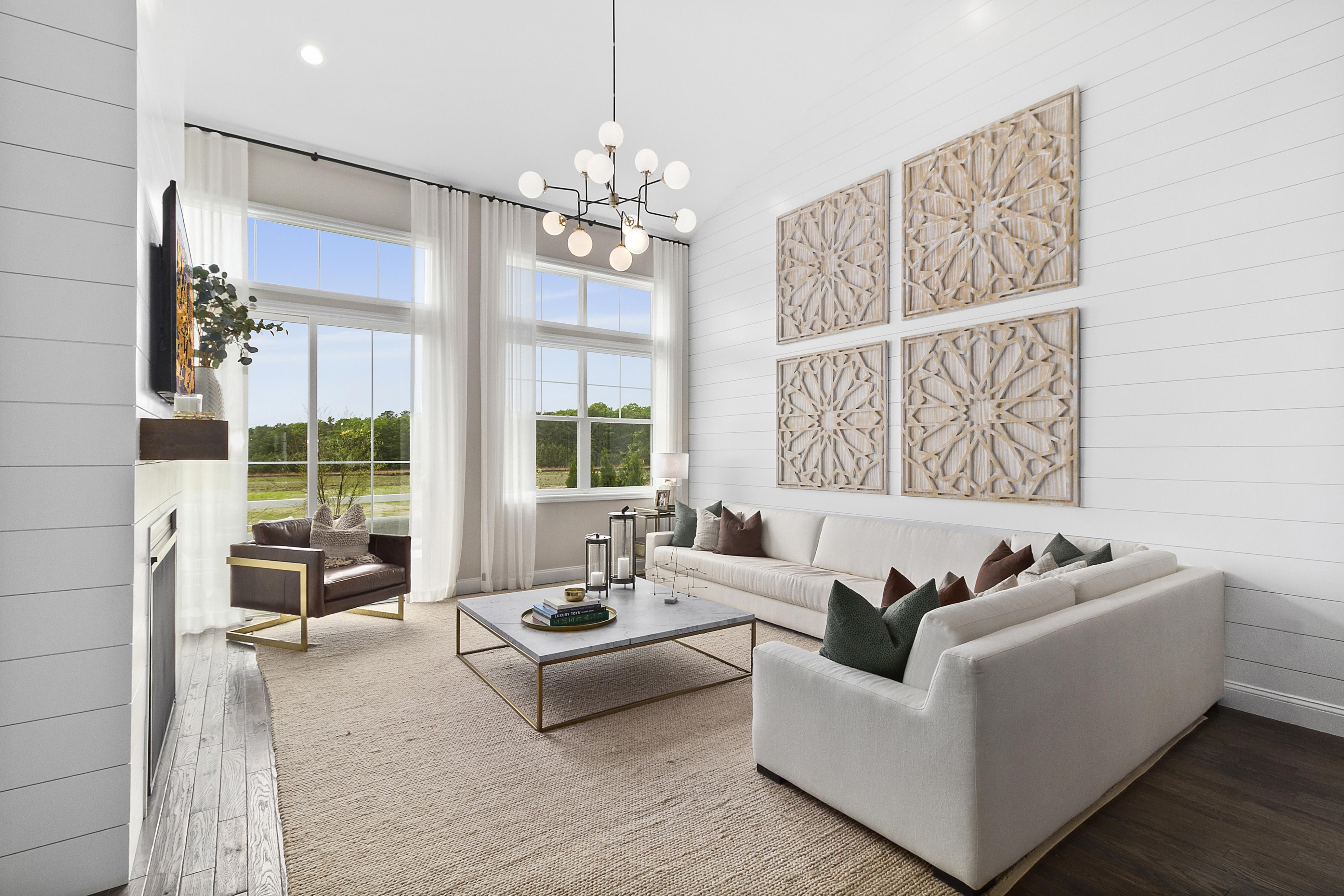 Living Area featured in The Davenport By Beechwood Homes in Nassau-Suffolk, NY