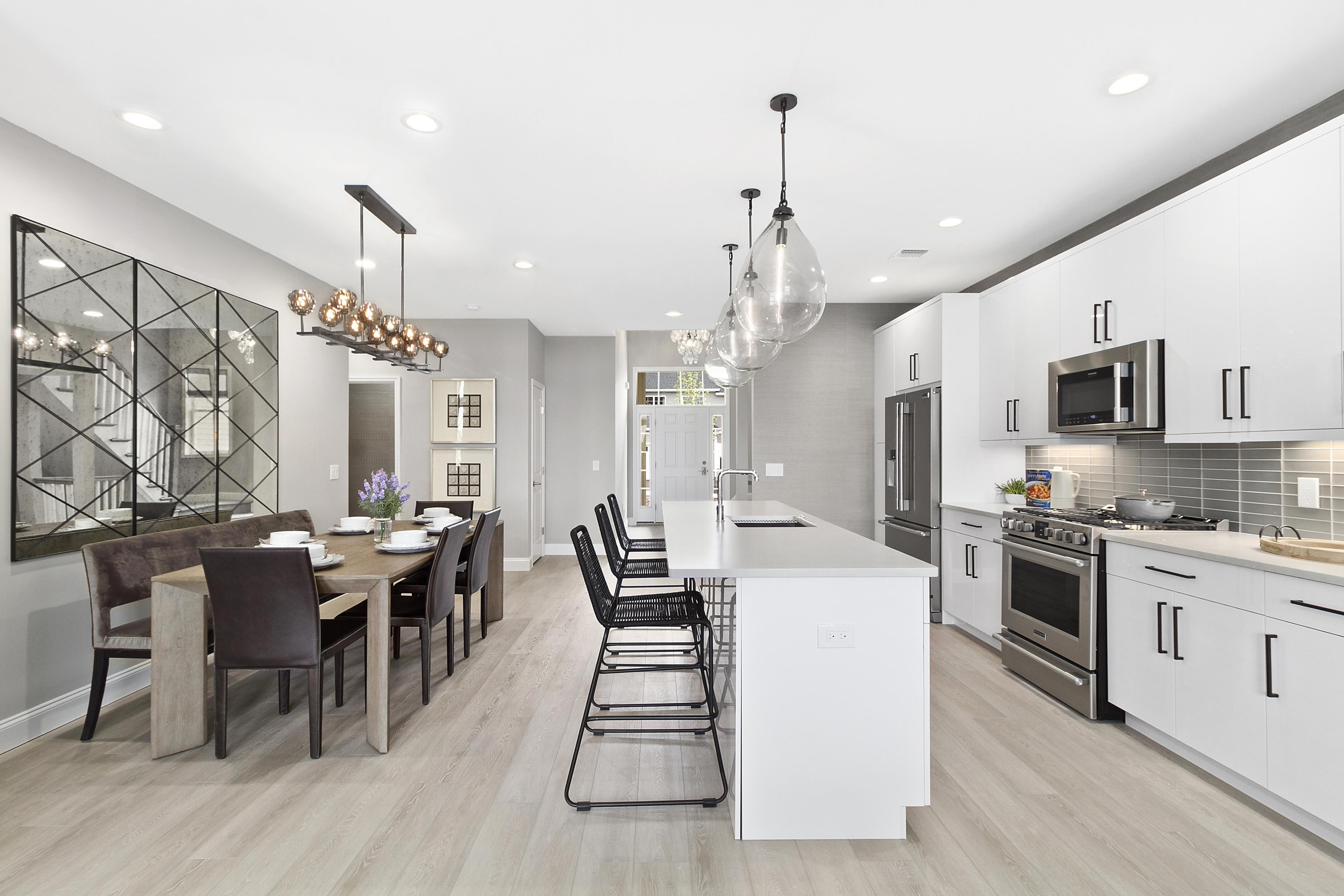 Kitchen featured in The Devonshire By Beechwood Homes in Nassau-Suffolk, NY