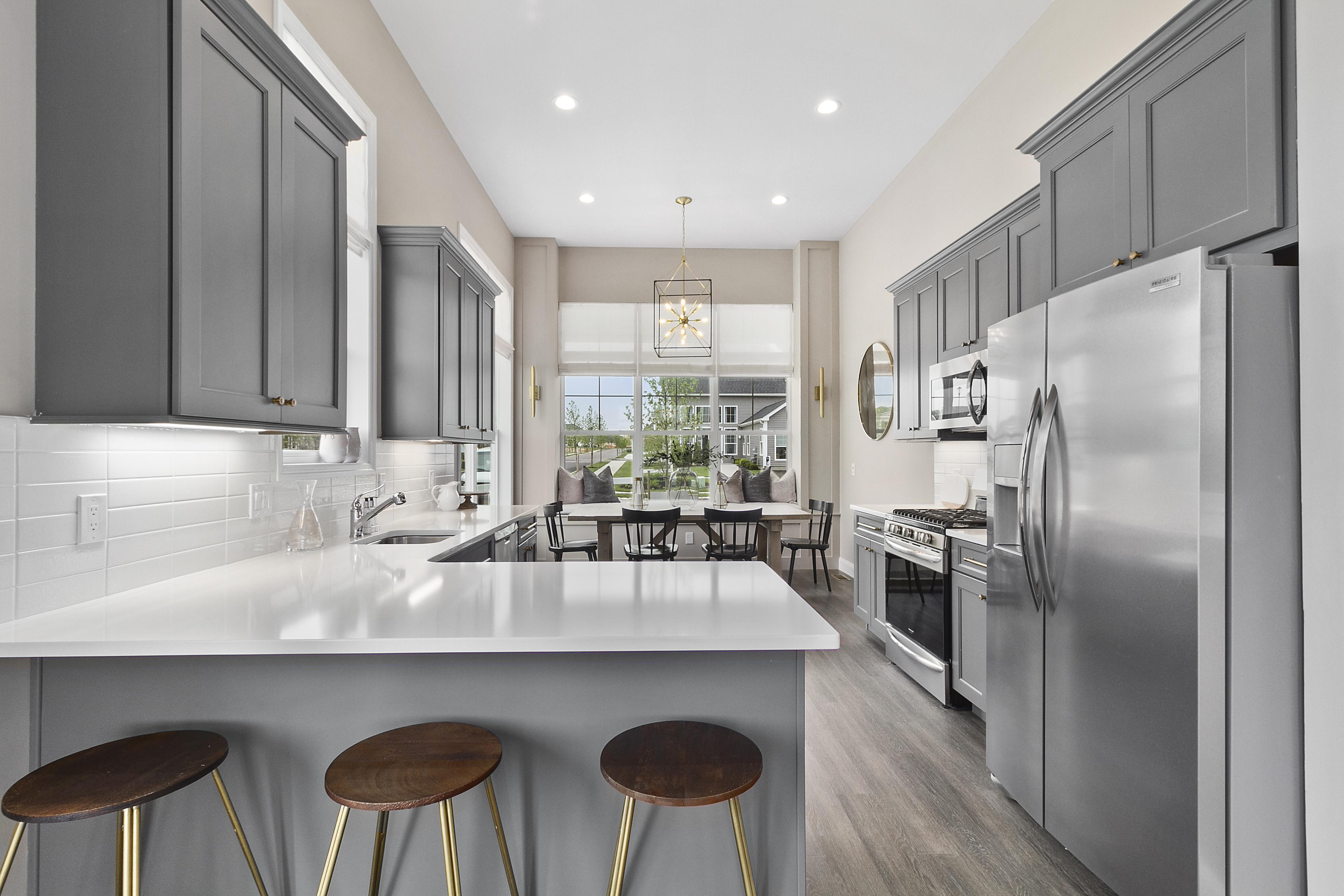 Kitchen featured in The Essex By Beechwood Homes in Nassau-Suffolk, NY