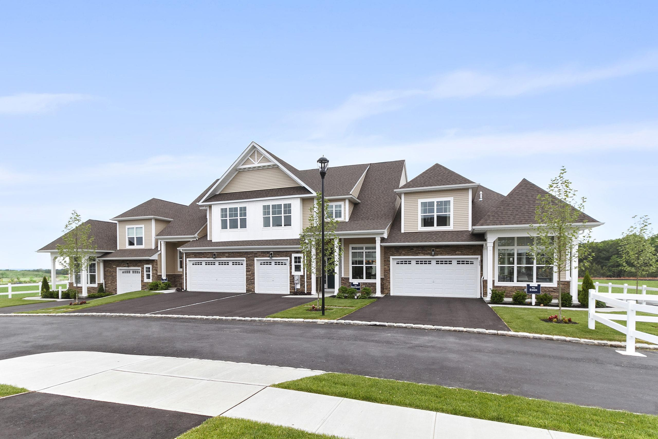 Exterior featured in The Eastbourne By Beechwood Homes in Nassau-Suffolk, NY