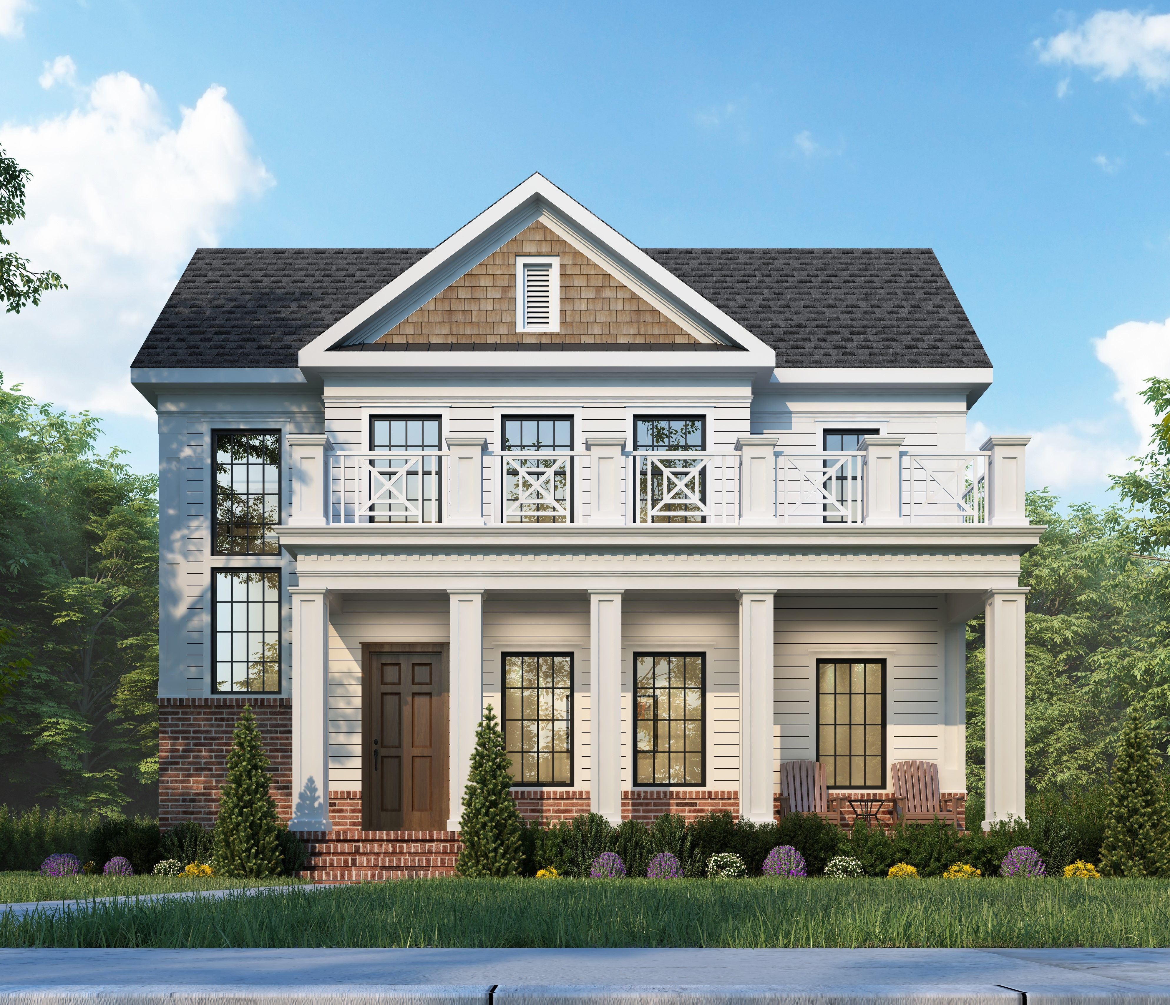 Exterior featured in the Lot 109 By Beechwood Homes in Albany-Saratoga, NY