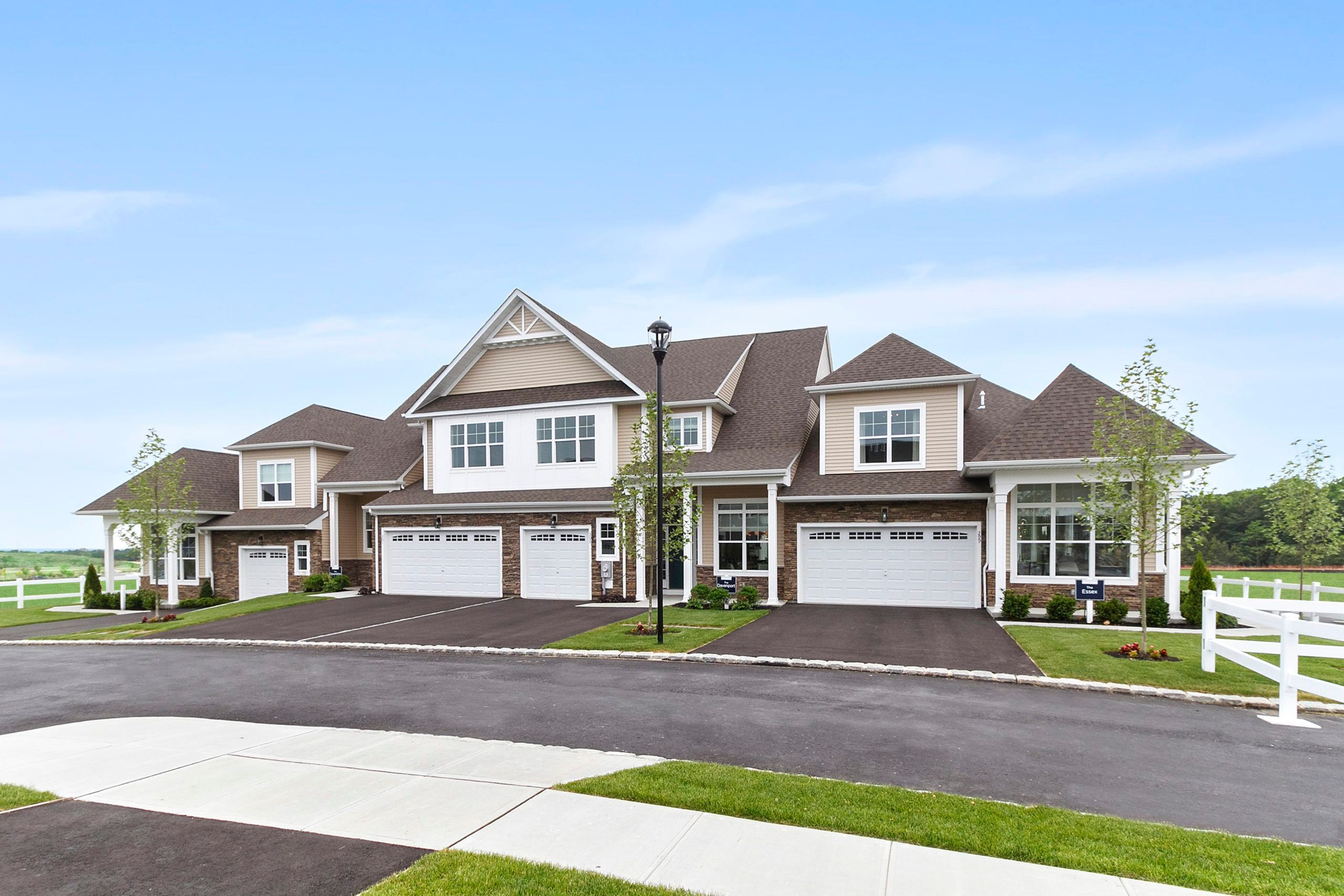 Exterior featured in The Devonshire By Beechwood Homes in Nassau-Suffolk, NY