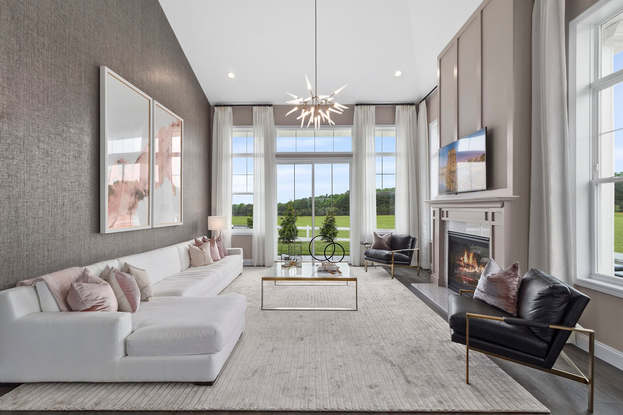 Living Area featured in The Essex By Beechwood Homes in Nassau-Suffolk, NY