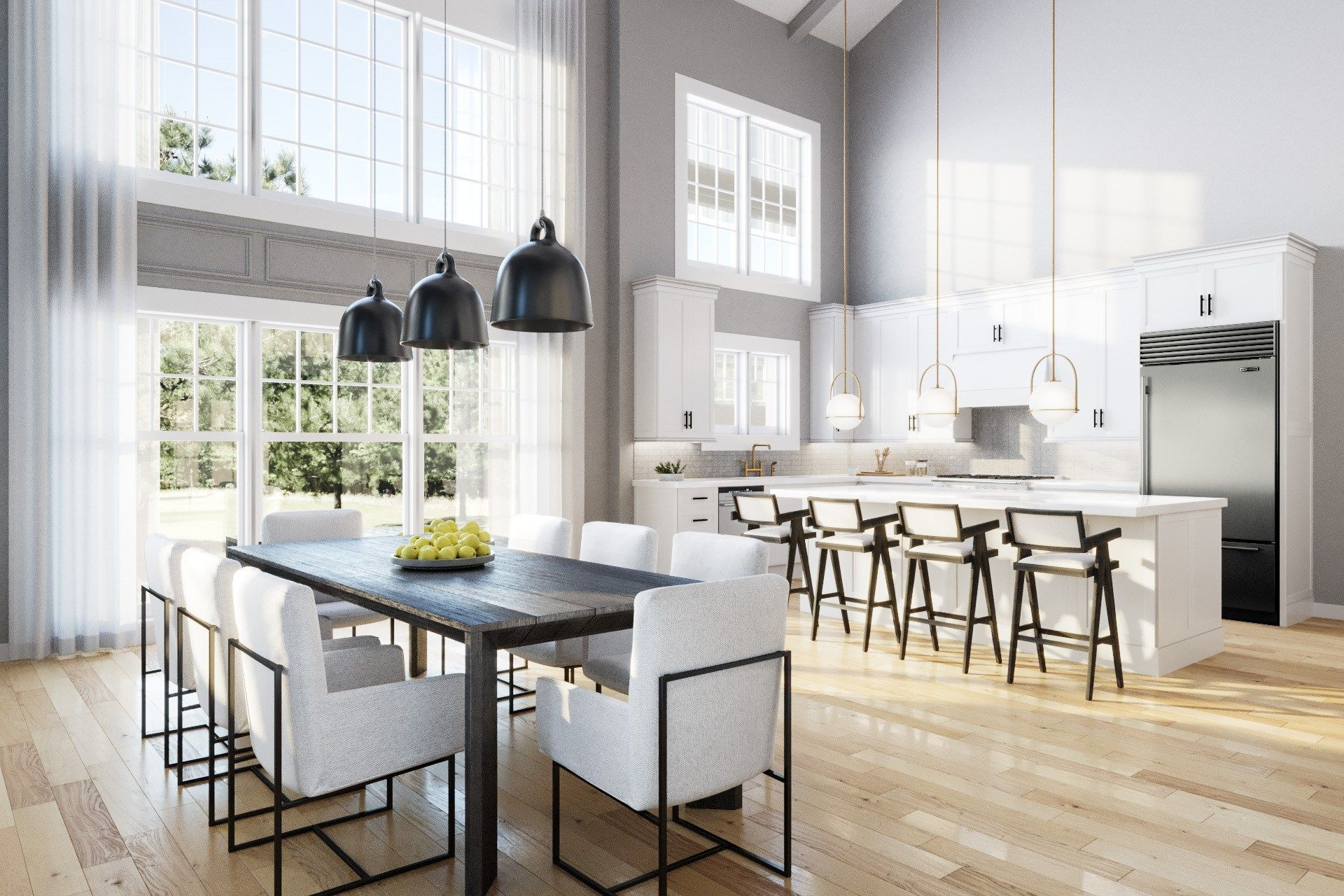 Kitchen featured in the Townhome A By Beechwood Homes in Nassau-Suffolk, NY