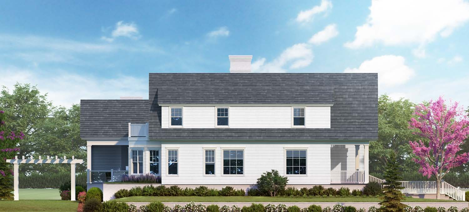 Exterior featured in the Homesite 2 By Beechwood Homes in Nassau-Suffolk, NY