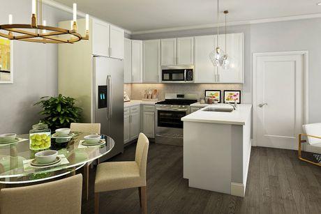 Kitchen-in-Unit A-at-Marina Pointe East Rockaway-in-East Rockaway