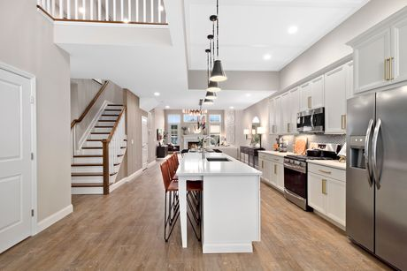 Kitchen-in-The Davenport-at-Country Pointe Meadows-in-Yaphank