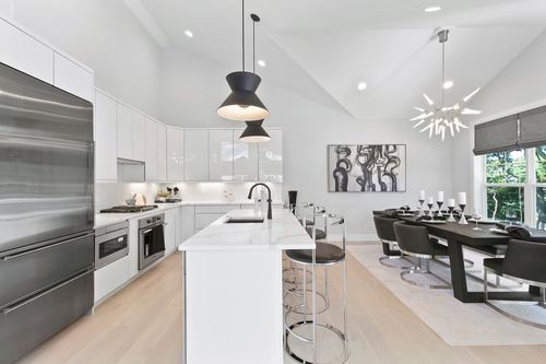 Kitchen-in-The Barclay-at-Country Pointe Woods Smithtown-in-Smithtown