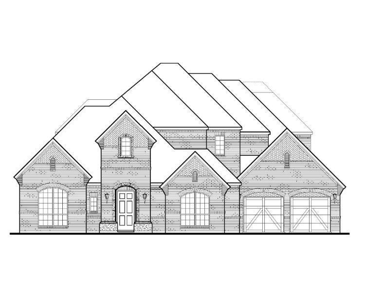 Exterior featured in the B919 By BelclaireHomes in Dallas, TX