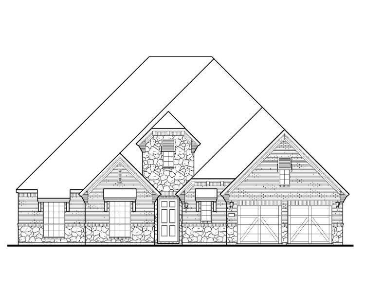 Exterior featured in the B829 By BelclaireHomes in Dallas, TX