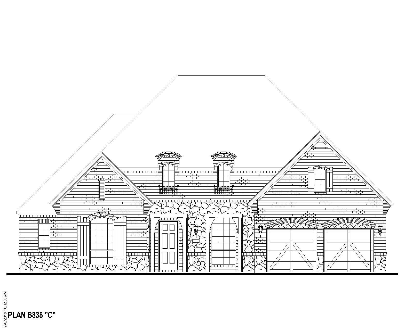 Exterior featured in the B838 By BelclaireHomes in Dallas, TX