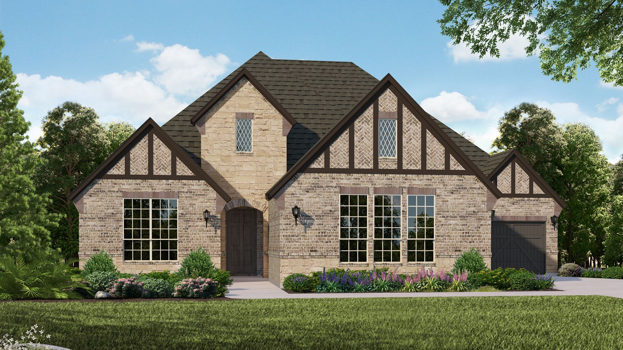 Exterior featured in the B815 By BelclaireHomes in Dallas, TX