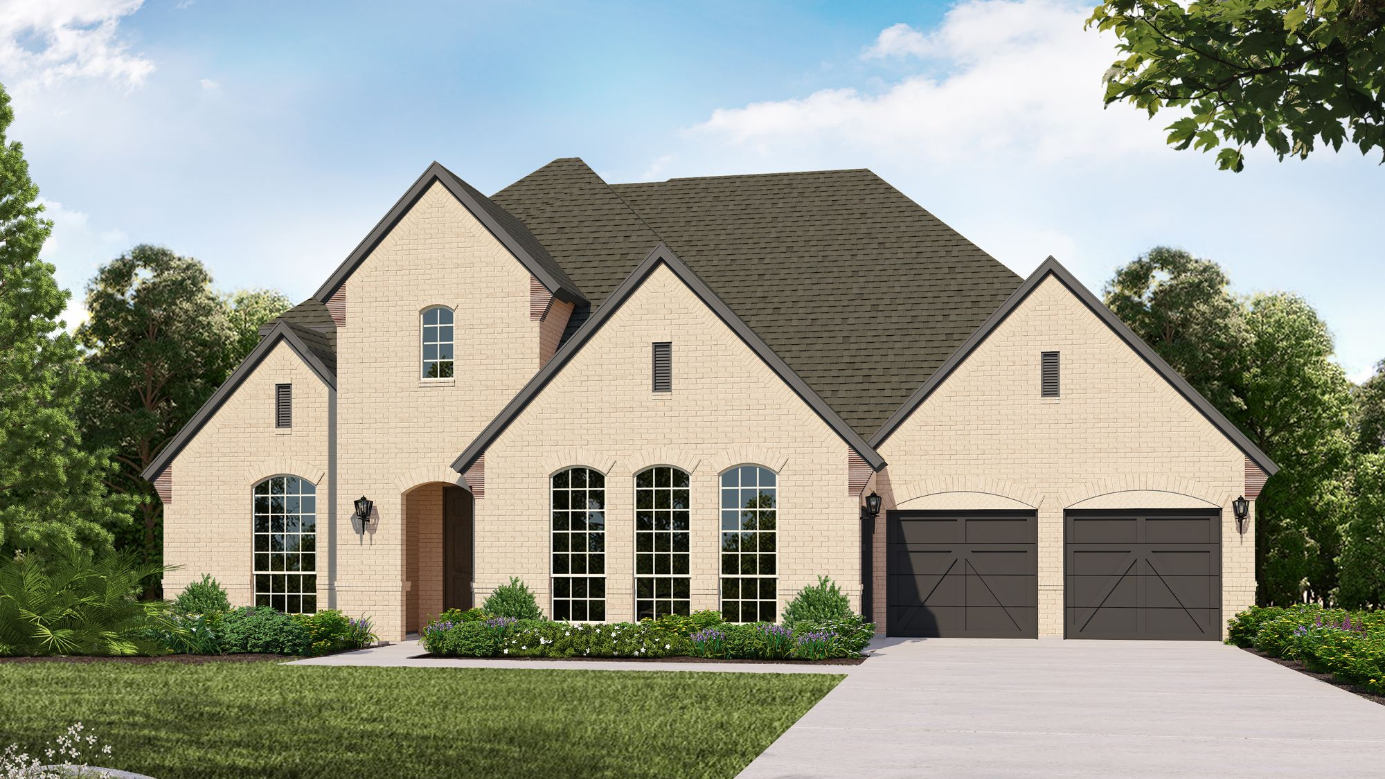 Exterior featured in the B834 By BelclaireHomes in Dallas, TX