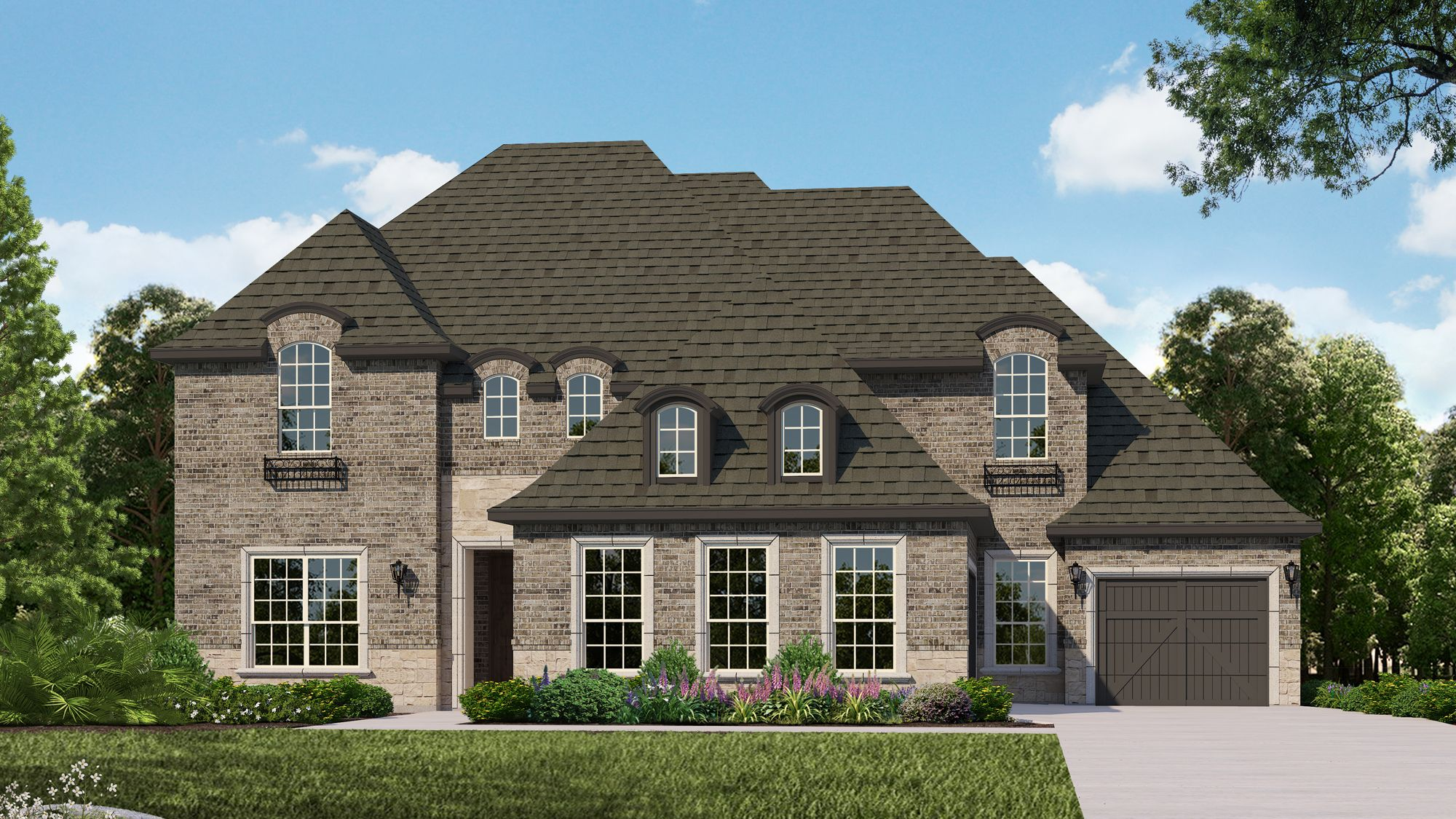 Exterior featured in the B823 By BelclaireHomes in Dallas, TX