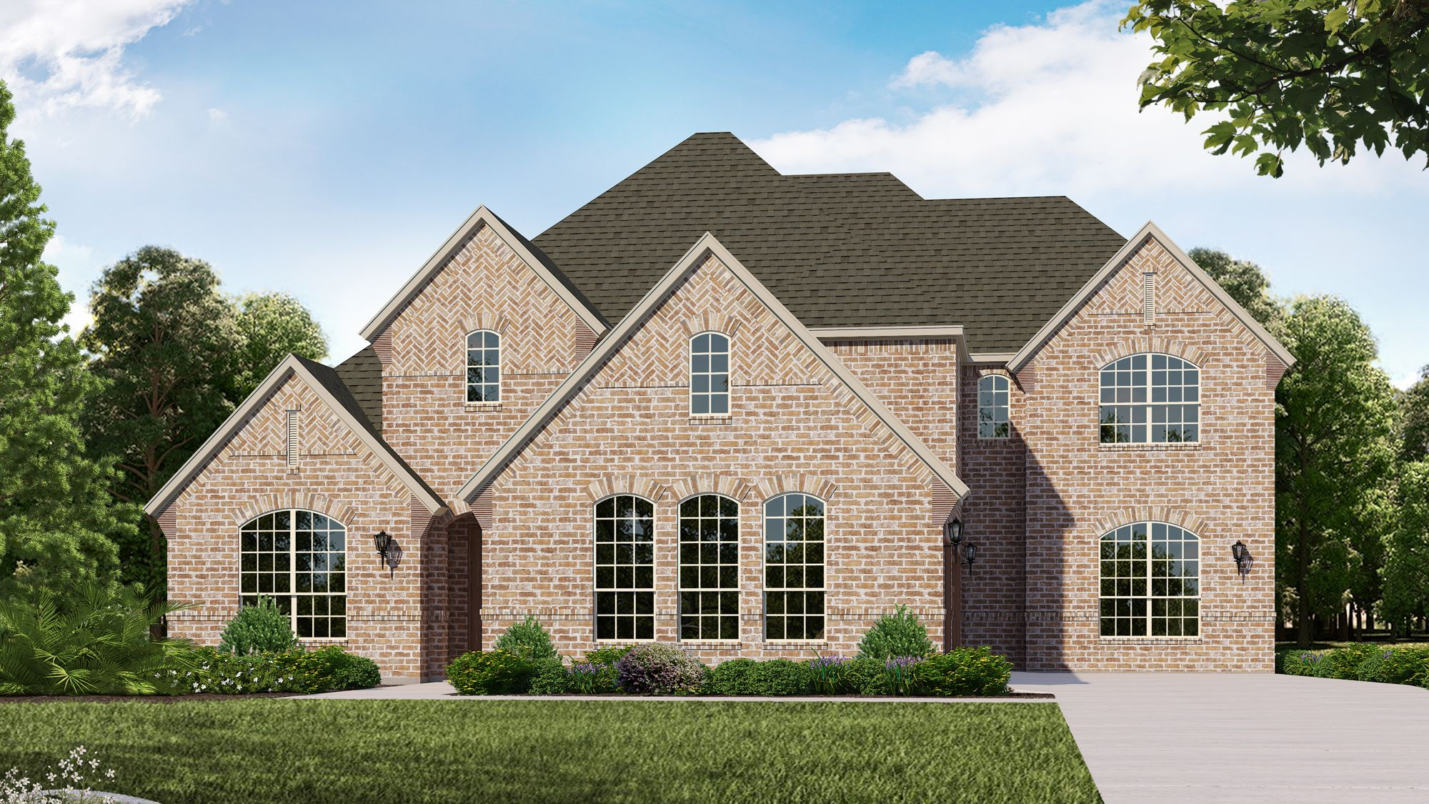 Exterior featured in the B820 By BelclaireHomes in Dallas, TX