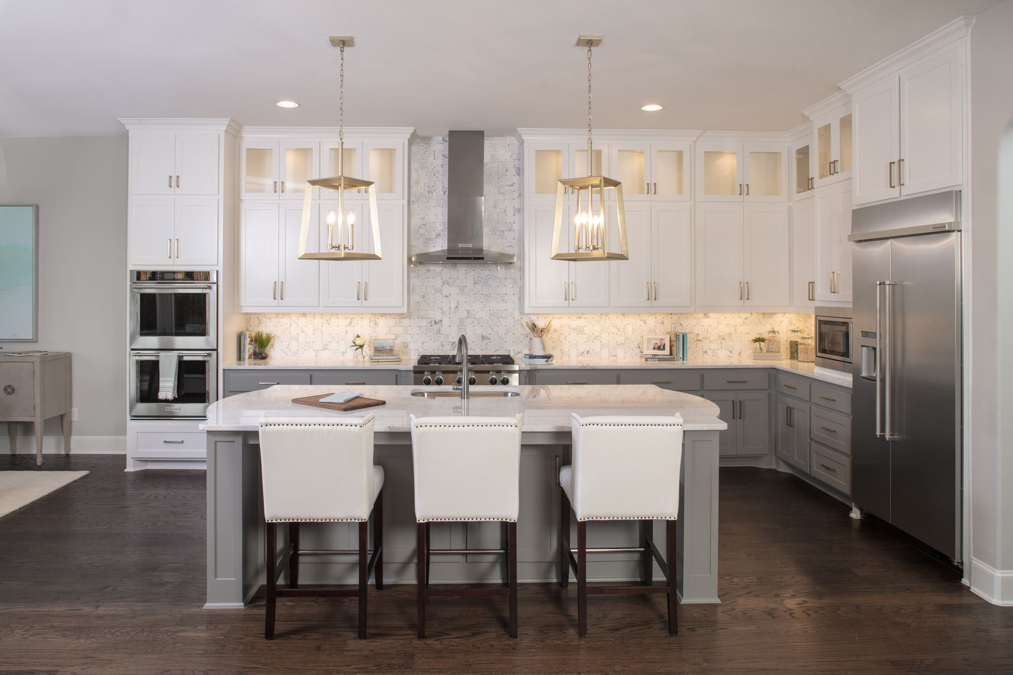 Kitchen featured in the B807 By BelclaireHomes in Dallas, TX
