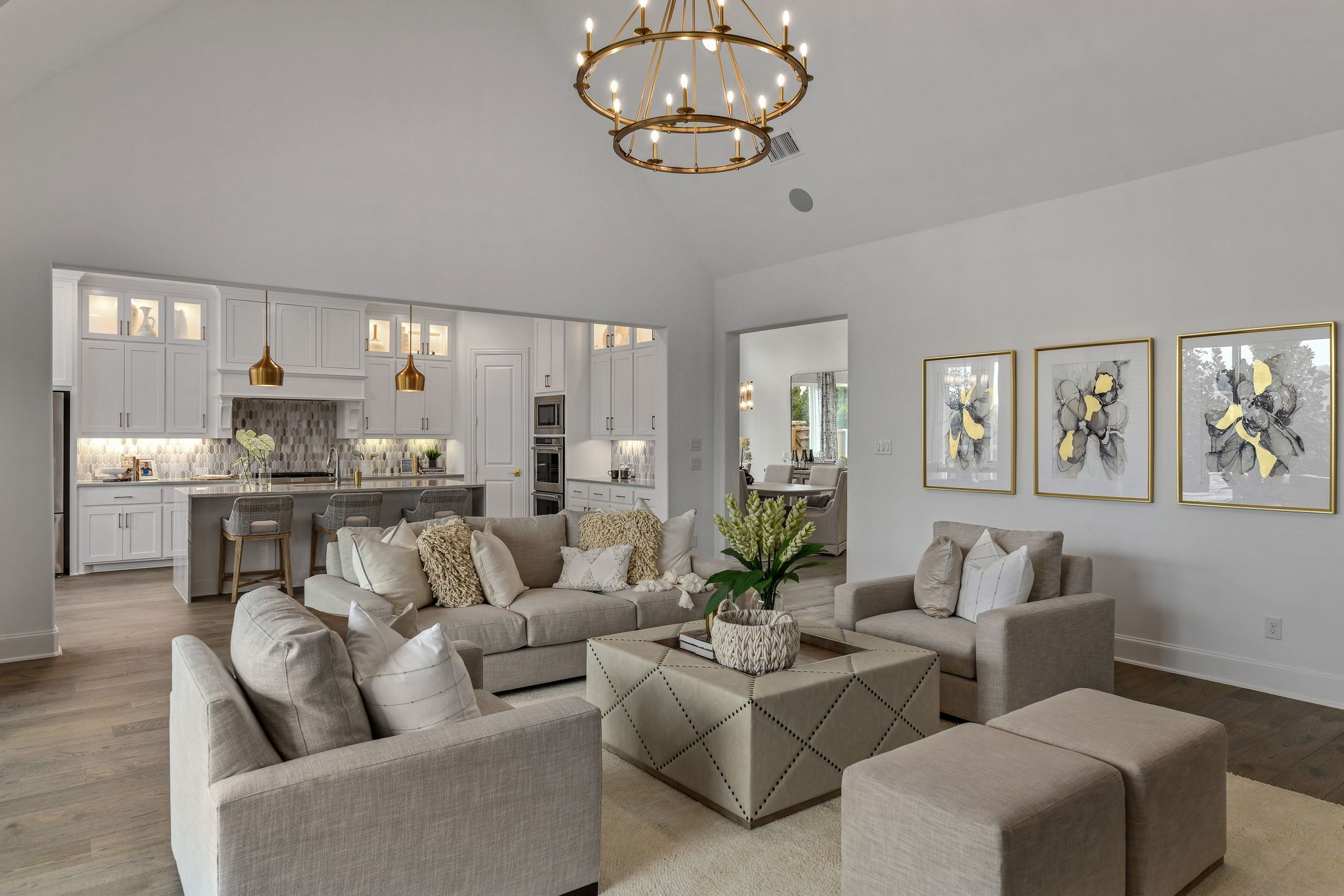 Living Area featured in the B815 By BelclaireHomes in Dallas, TX