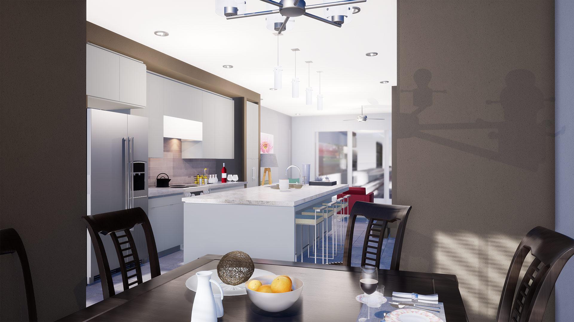 Kitchen featured in the Tramonti By Bellavista Homes in Orlando, FL