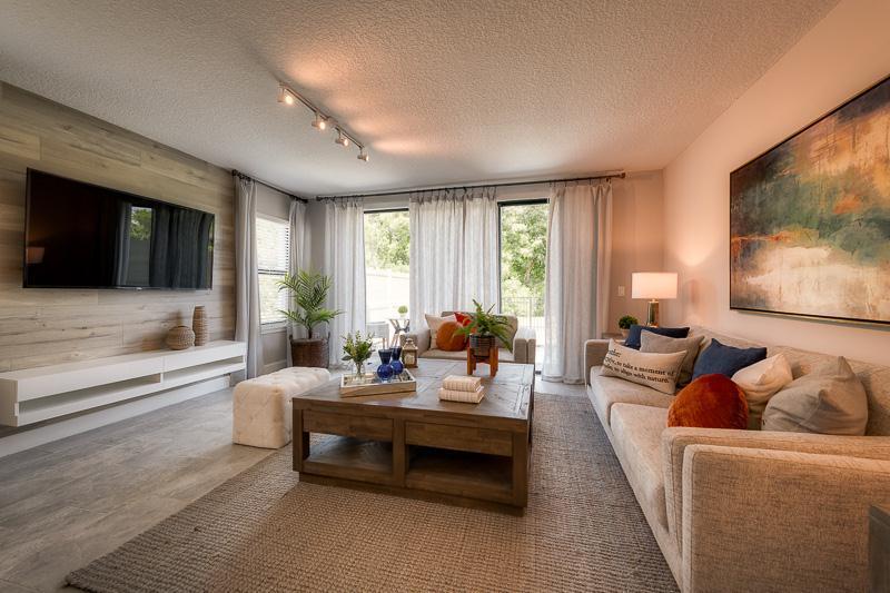 Living Area featured in the Salerno II By Bellavista Homes in Orlando, FL