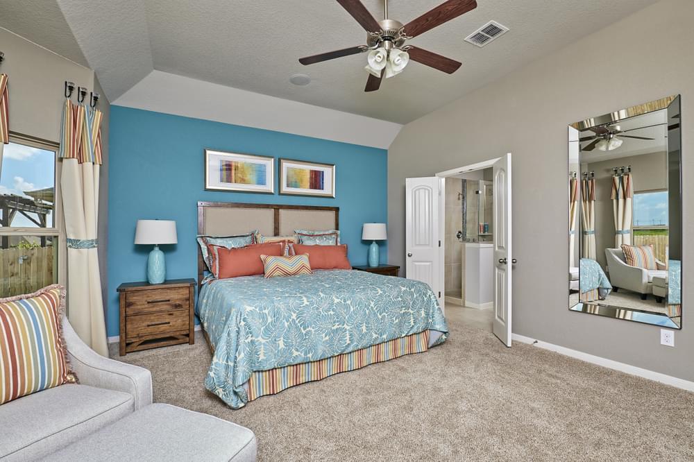 Bedroom featured in The Sterling By Bella Vista Homes in San Antonio, TX