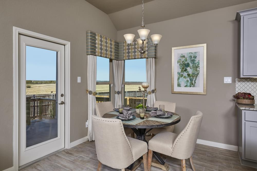 Kitchen featured in The Addison By Bella Vista Homes in San Antonio, TX