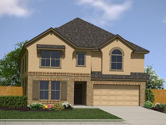 Exterior featured in The Atalon By Bella Vista Homes in San Antonio, TX