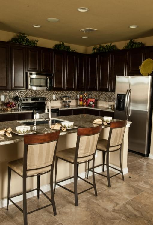 Kitchen featured in The Atalon By Bella Vista Homes in San Antonio, TX