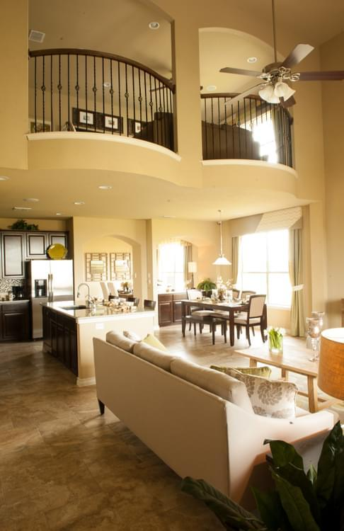 Living Area featured in The Atalon By Bella Vista Homes in San Antonio, TX