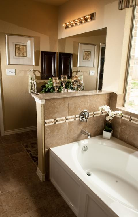 Bathroom featured in The Atalon By Bella Vista Homes in San Antonio, TX