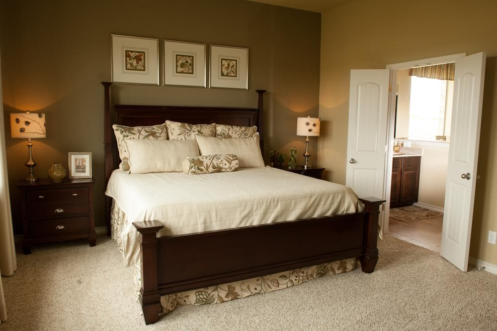 Bedroom featured in The Atalon By Bella Vista Homes in San Antonio, TX