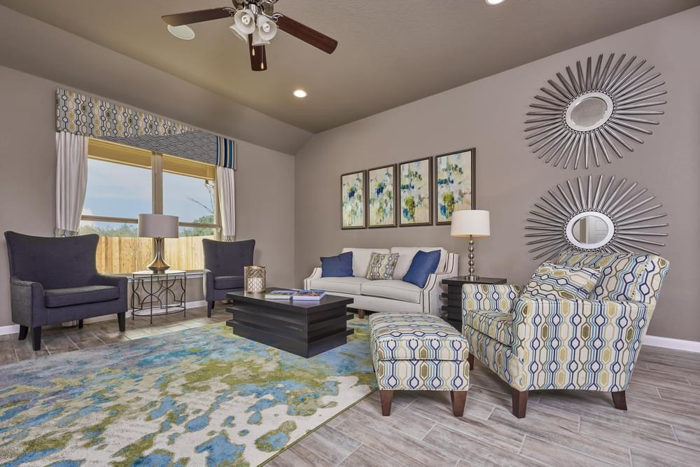 Living Area featured in The Avondale By Bella Vista Homes in San Antonio, TX