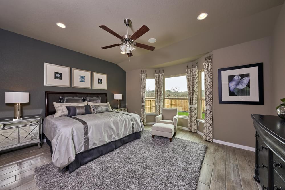 Bedroom featured in The Avondale By Bella Vista Homes in San Antonio, TX
