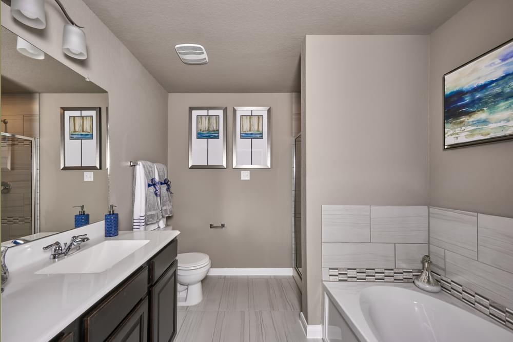 Bathroom featured in The Avondale By Bella Vista Homes in San Antonio, TX