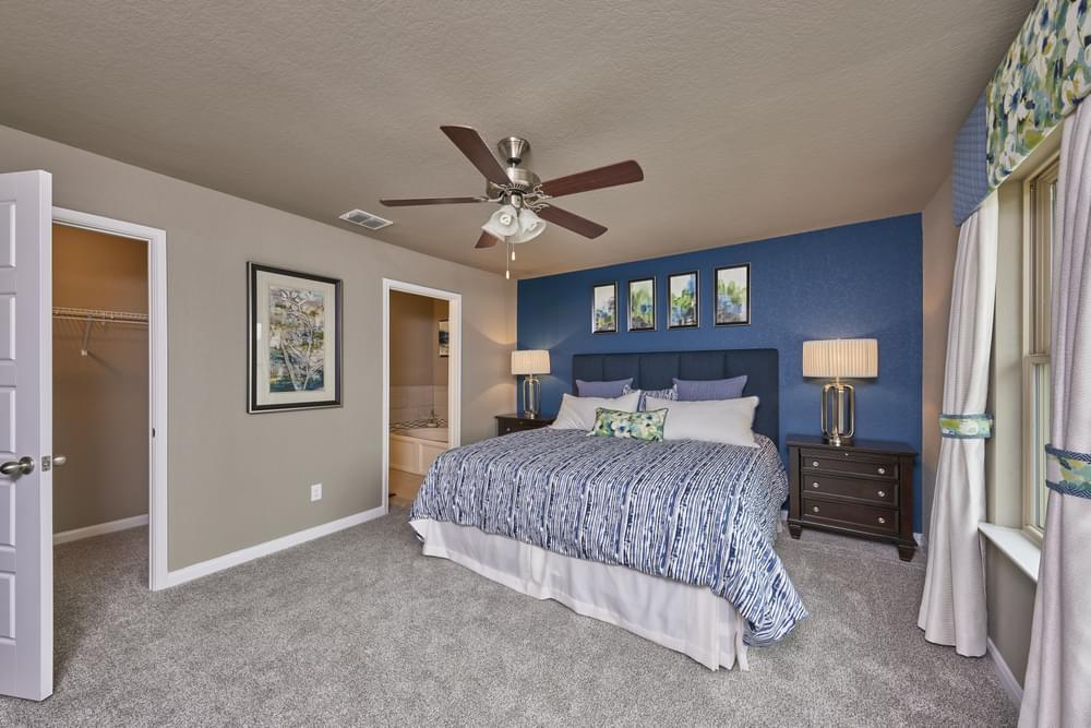 Bedroom featured in The Avondale By Bella Vista Homes in San Antonio, TX