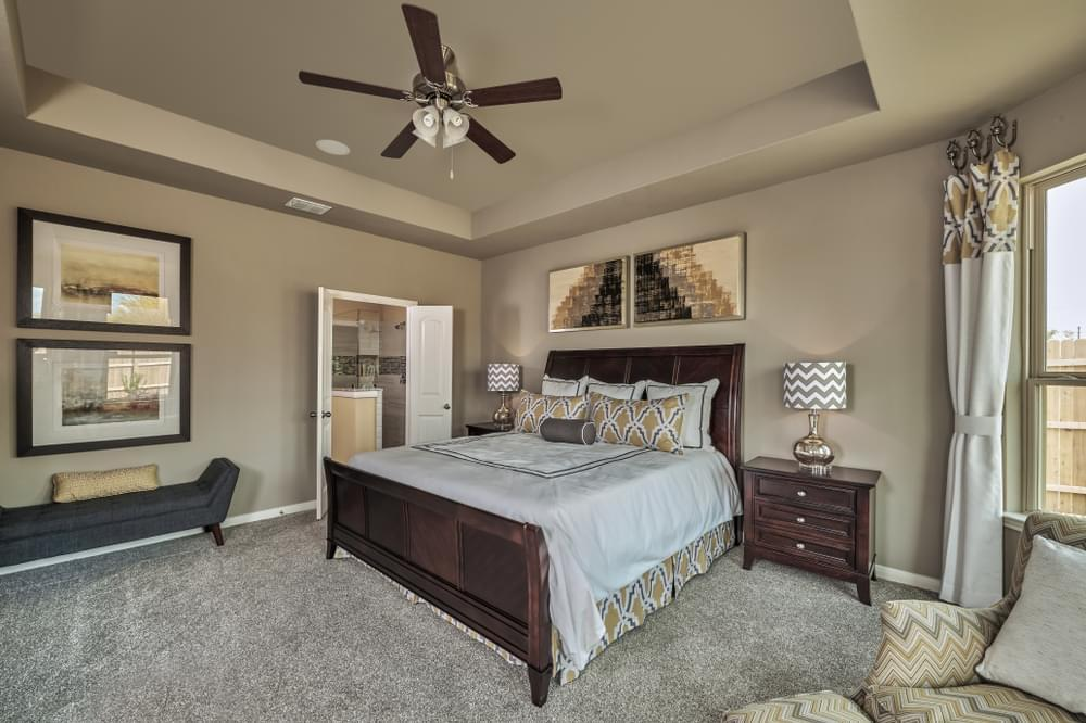 Bedroom featured in The Summit By Bella Vista Homes in San Antonio, TX