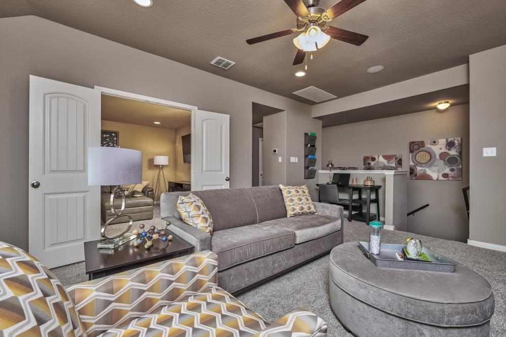 Living Area featured in The Summit By Bella Vista Homes in San Antonio, TX