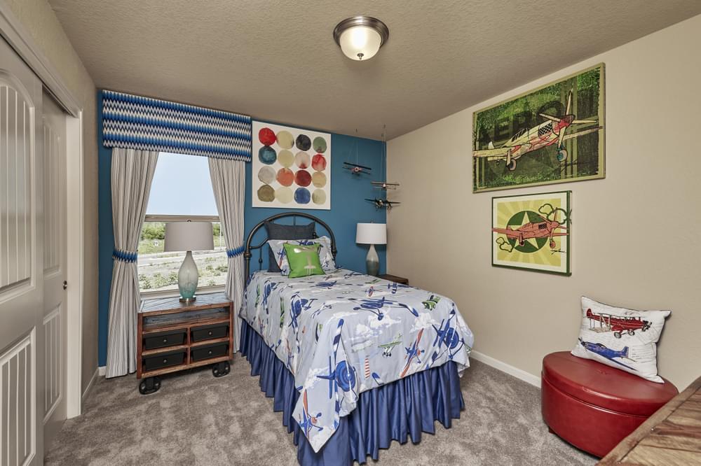 Bedroom featured in The Ridgeview By Bella Vista Homes in San Antonio, TX