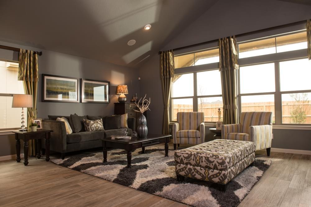 Living Area featured in The Bristol II By Bella Vista Homes in San Antonio, TX