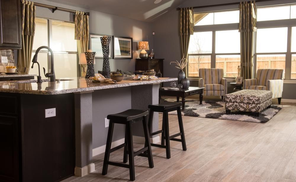Kitchen featured in The Bristol II By Bella Vista Homes in San Antonio, TX