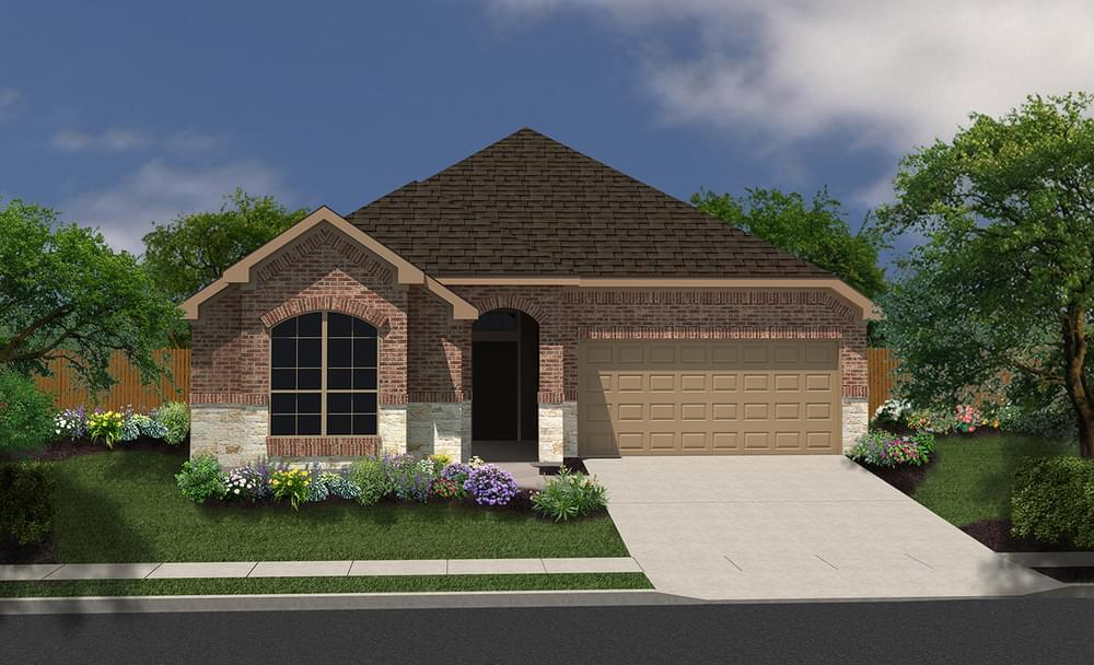 Exterior featured in The Addison By Bella Vista Homes in San Antonio, TX