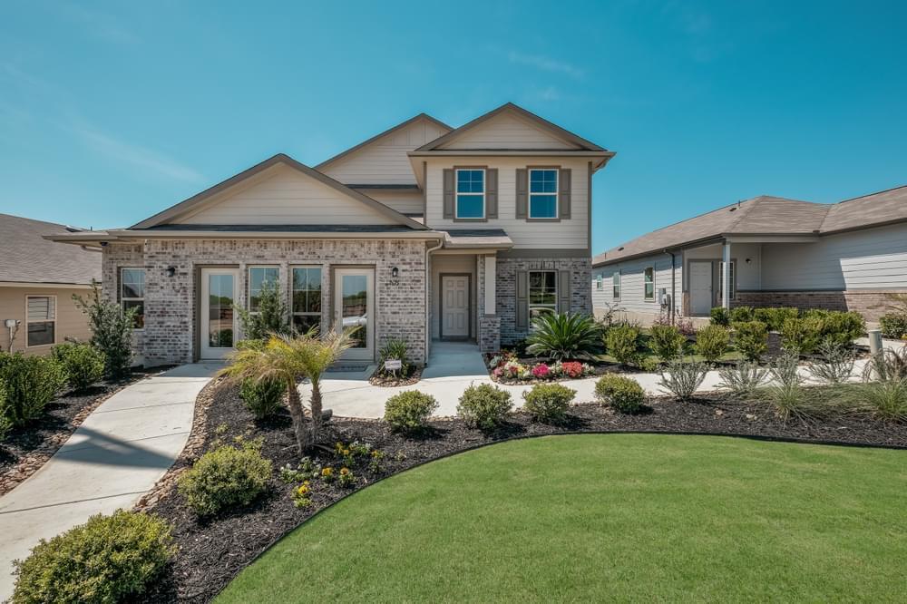 'Cinco Lakes' by Bella Vista Homes in San Antonio