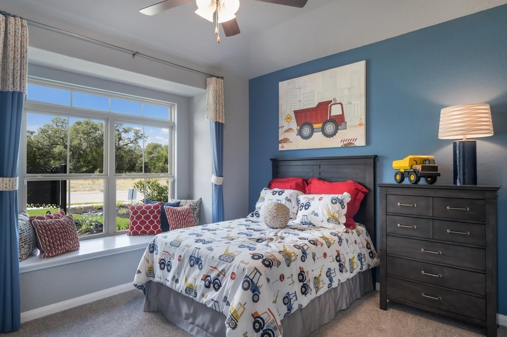 Bedroom featured in The Colton By Bella Vista Homes in San Antonio, TX
