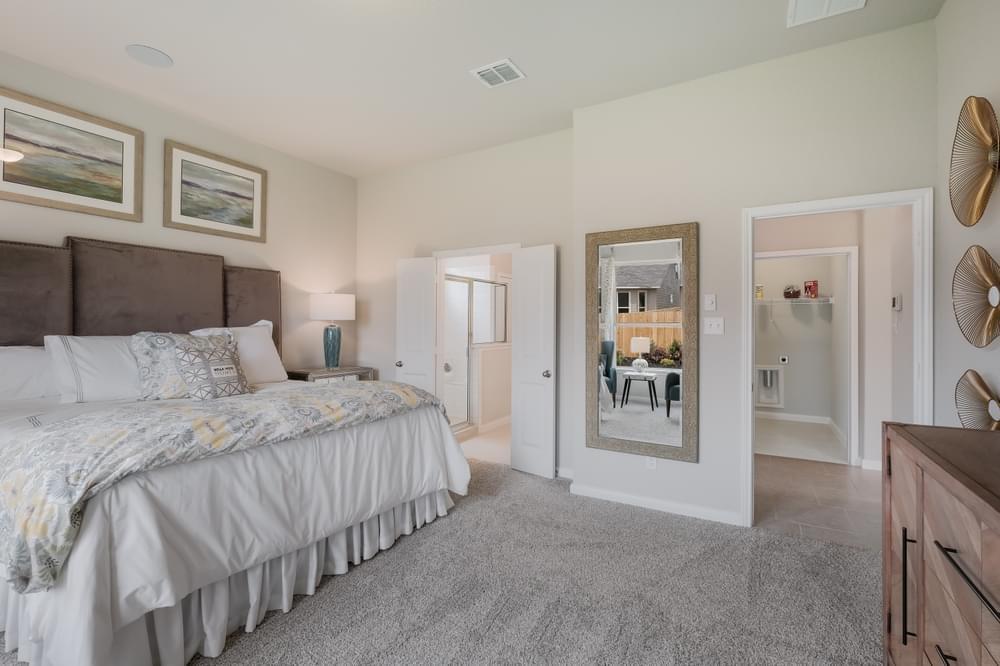 Bedroom featured in The Ellington By Bella Vista Homes in San Antonio, TX