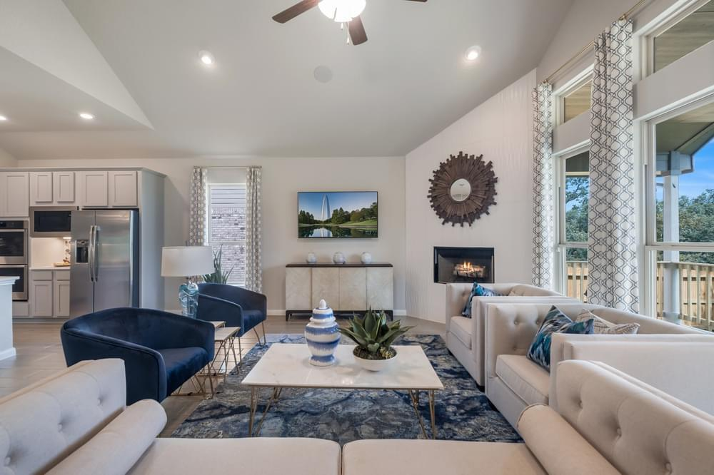 Living Area featured in The Colton By Bella Vista Homes in San Antonio, TX