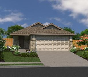 The Charlotte - Dauer Ranch: New Braunfels, Texas - Bella Vista Homes